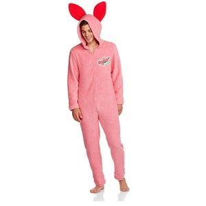 NEW A Christmas Story Bunny Men's Union Suit